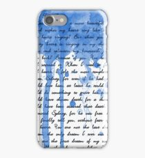 Tess, Tess, Tessa iPhone Case/Skin