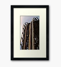 Drop in on The Beast Framed Print