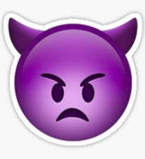 Emoji Devil Sticker