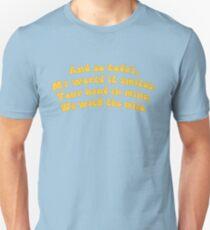 Thank You Lyrics Unisex T-Shirt