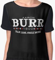 Vote Burr! Chiffon Top