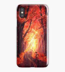 Autumn Ride iPhone Case