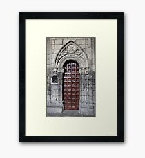 Gate Gothic Framed Print