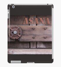 Rustic Asana iPad Case/Skin