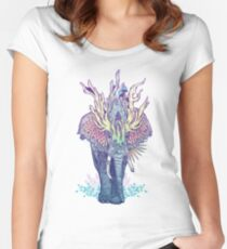 Spirit Animal - Elephant Women's Fitted Scoop T-Shirt