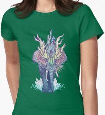 Spirit Animal - Elephant Womens Fitted T-Shirt
