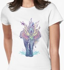 Spirit Animal - Elephant Womens Fitted T-Shirt