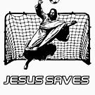 Jesus Saves by rudeboyskunk