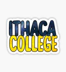 ithaca college Sticker