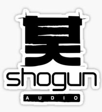Shogun Audio DnB Record Label Sticker