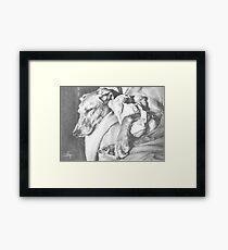 SNUGGLE BUDDIES Framed Print