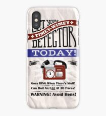 The Timey-Wimey Detector iPhone Case/Skin