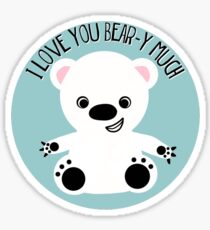Bear Hugs Sticker