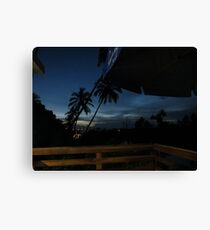 Sunset Brazil Canvas Print