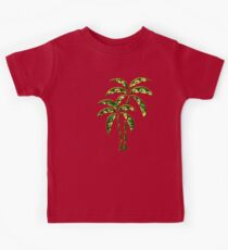 Palm Tree, Tattoo Style, Beach, Surf, Playa,  Kids T-Shirt
