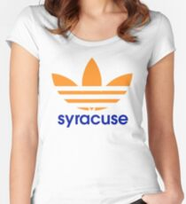 Syracuse Artwork Women's Fitted Scoop T-Shirt