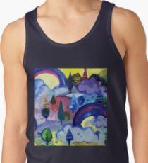Dreamland - Landscape with Rainbows by Cecca Designs Men's Tank Top