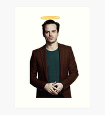 Andrew Scott with a halo Art Print