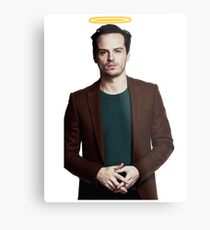 Andrew Scott with a halo Metal Print