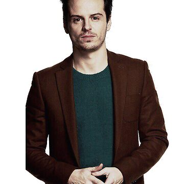 Andrew Scott with a halo by meggie1tr
