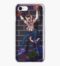 Dog with his skateboard iPhone Case/Skin
