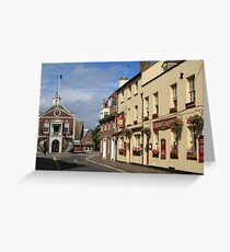 Old Town, Poole Greeting Card