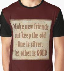 Make New Friends Graphic T-Shirt