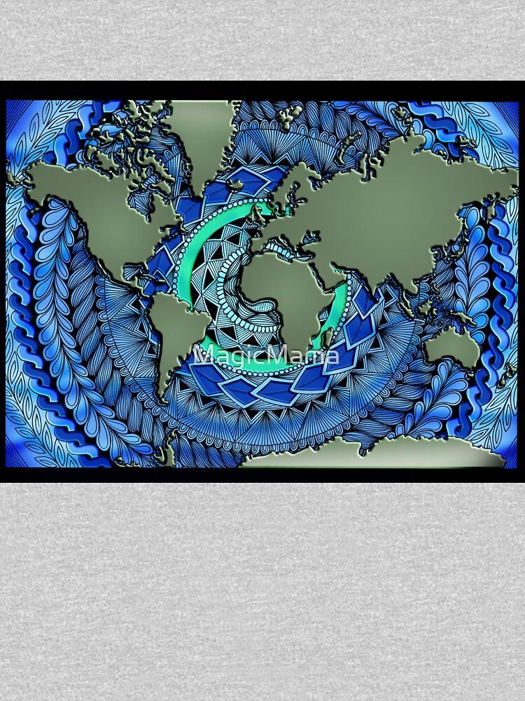 World Oceans Mandala by MagicMama