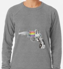 Pencils gun! Lightweight Sweatshirt