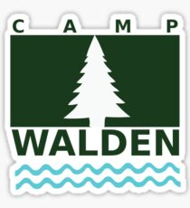 Camp Walden Sticker