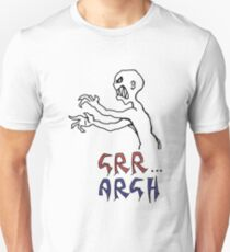 grr...argh with colour T-Shirt