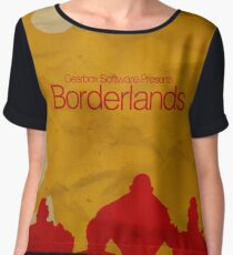Minimalistic Borderlands Design Chiffon Top