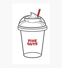 Five Guys Photographic Print