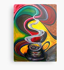 Ode to Coffee.. Metal Print