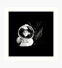 Ripley and the Beast Art Print