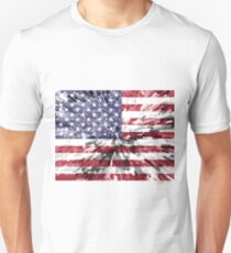 American Flag - Extrude Unisex T-Shirt