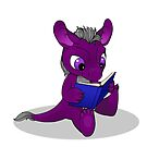 Perse Lectio, the little ACE dragon by Catherine Dair
