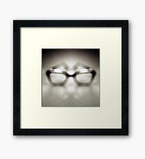 Safety Glasses Framed Print