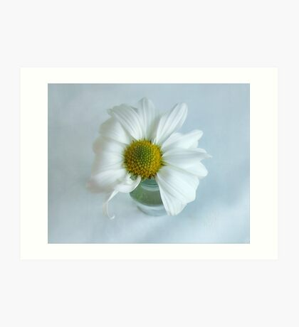 A Small Pleasure Daisy Portrait Art Print