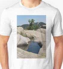 Ancient Thracian Reservoir at Belintash  Unisex T-Shirt