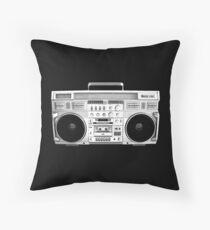 Ghetto Blaster Throw Pillow