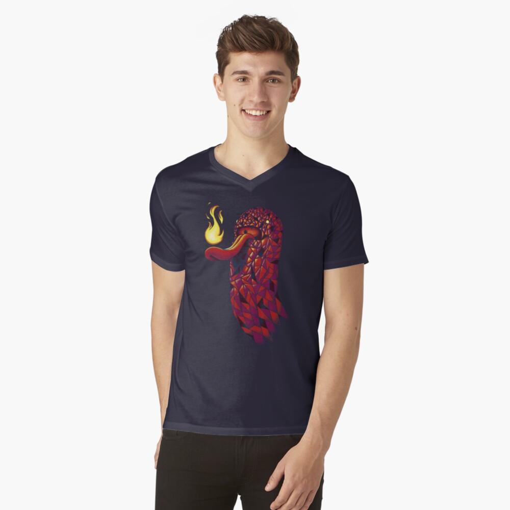 Holey Ghost T-Shirt mit V-Ausschnitt