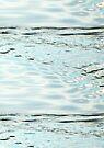 Water Abstract - Pond Ripples by Deborah Crew-Johnson