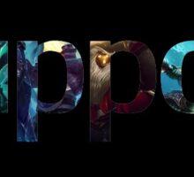 League of Legends Support Sticker