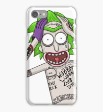 I'm just going to wubba lubba dub dub you real bad iPhone Case/Skin