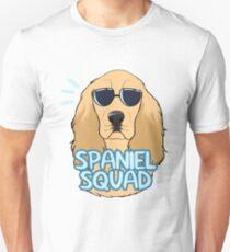 SPANIEL SQUAD (gold) Unisex T-Shirt