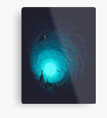 Calm Night To Fly Metal Print