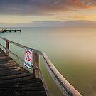 No Diving, Mornington Peninsula, Victoria, Australia by Michael Boniwell