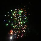 Wedding Fireworks by MaeBelle