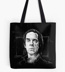Nick Cave, A Portrait Tote Bag